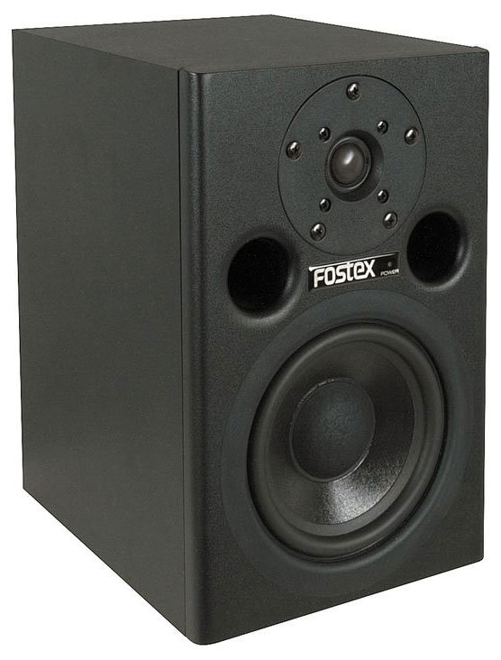 "Pair of 5"" Powered Studio Monitors in White"