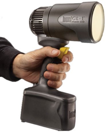 GL-1 Handheld Performance Focusing LED Light with High-Output Tungsten Light