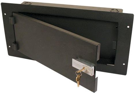 "6"" Long Locking Wall Box"