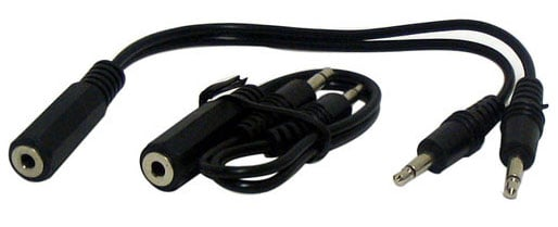 3.5mm Y Adapter Cables
