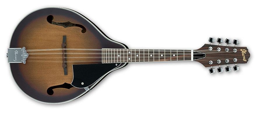 Ibanez M510OVS Mandolin, Open Pore Vintage Sunburst, Rosewood Fingerboard M510OVS