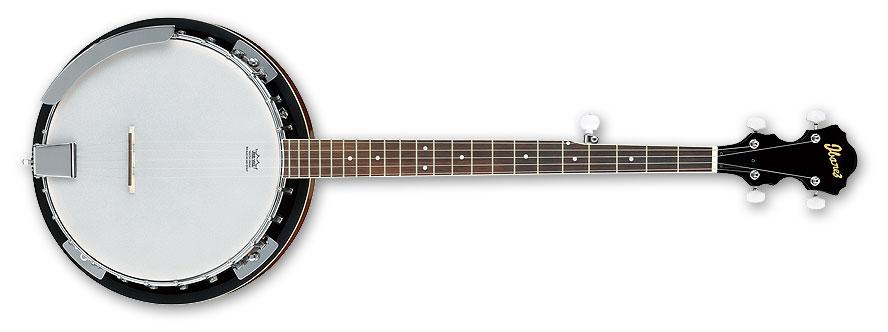 Banjo with Natural High Gloss Finish