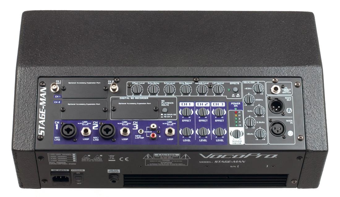 200 Watt Vocal Monitor