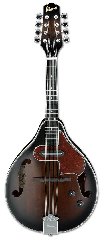 Mandolin, Dark Violin Sunburst with Pickup, Rosewood Fingerboard