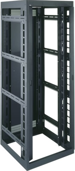 "Middle Atlantic Products DRK19-44-42LRD 44-Space, 42"" D Rack/Cable Management Enclosure without Rear Door DRK19-44-42LRD"