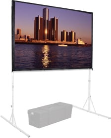"63"" x 84"" FastFold® Deluxe Portable Projection Screen Surface,  Da-Mat® [SURFACE ONLY]"