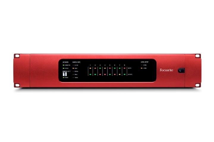 8-Channel AD/DA Remote Dante Interface for RedNet Network Audio System