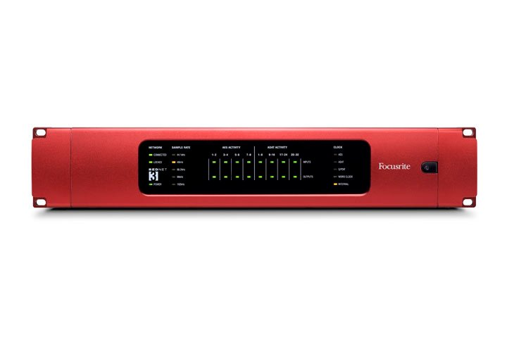 32 Digital I/O Dante Interface for RedNet Professional Audio Networking System
