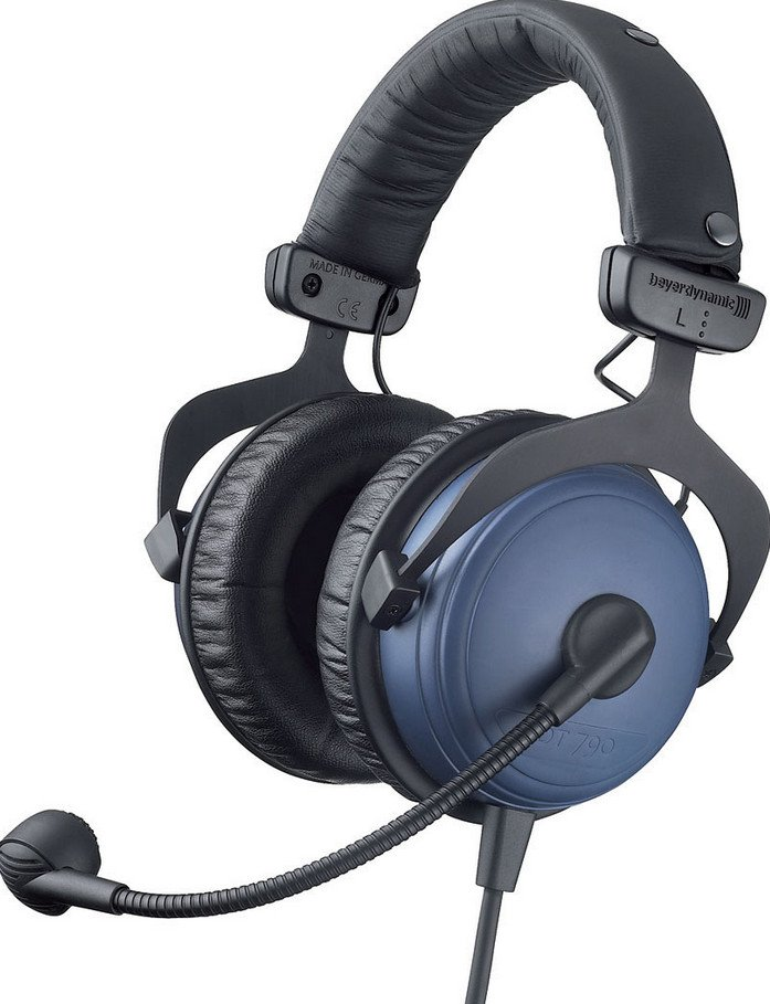 Dynamic Microphone Headset with 5 ft Cable