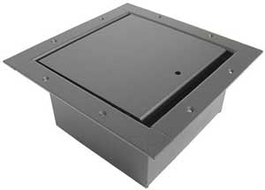 Vertical Panel Stage Pocket, Large, Black