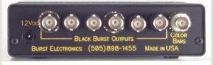 SMPTE Color Bar/Black Burst Generator