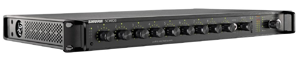 8 Ch Intellimix Mixer with DB25 & Dante