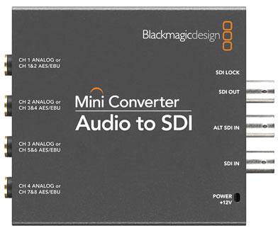 SDI to Audio Mini Converter