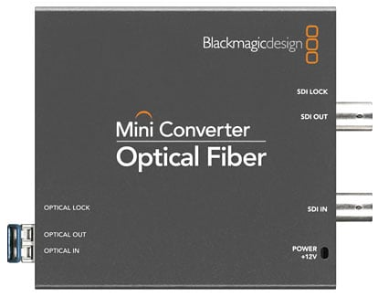 Optical Fiber to SDI, SDI to Optical Fiber Mini Converter