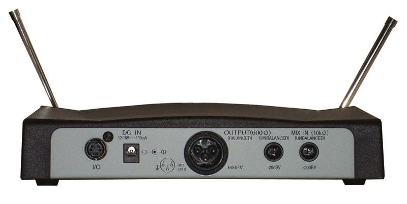 Wireless Handheld Condenser Microphone System