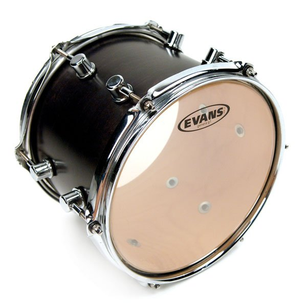 "3-Pack of G1 Clear Tom Tom Drumheads: 12"",13"",16"""