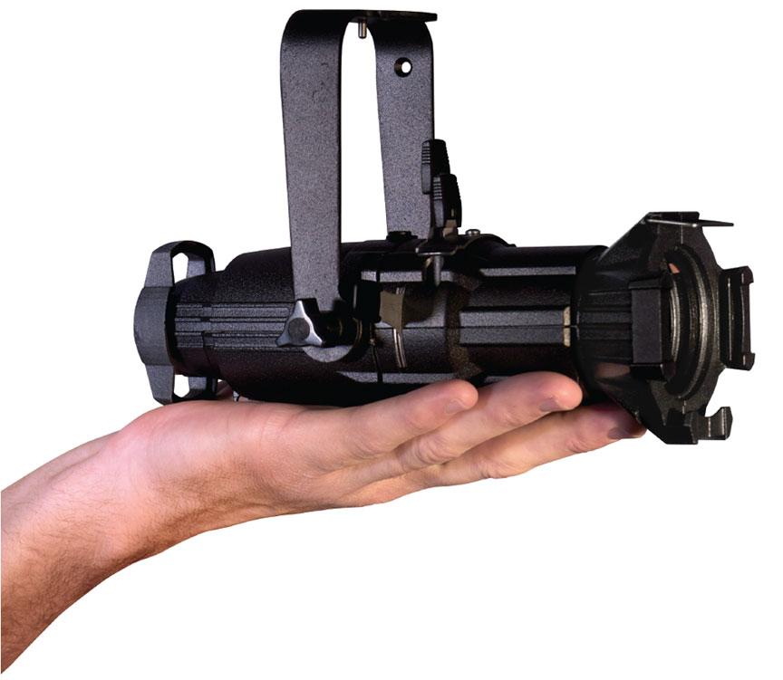 Source Four Mini Portable in Black, 26° Lens