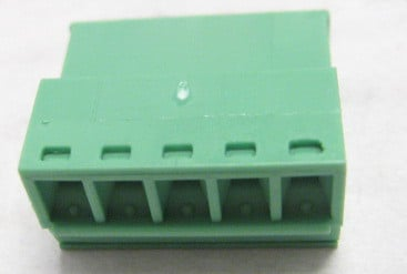 3.81 mm Inverted 5-Contact Phoenix Connector