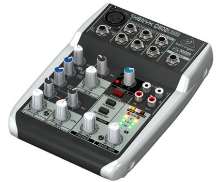 5-Ch 2-Bus USB Mixer