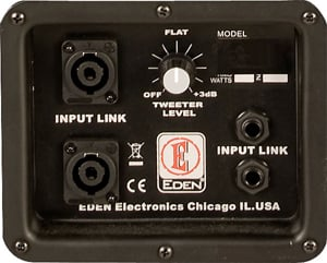 Eden Amplification D212XST4 400W 4 Ohm 2x12 Bass Speaker Cabinet ...