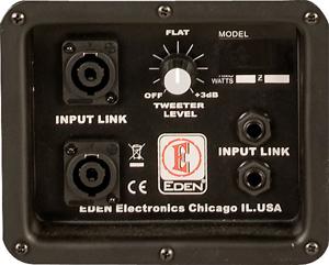 "1000W 8-Ohm 4x10"" Bass Speaker Cabinet"