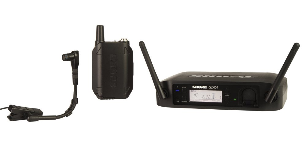 Wireless System with WB98H/C Instrument Microphone