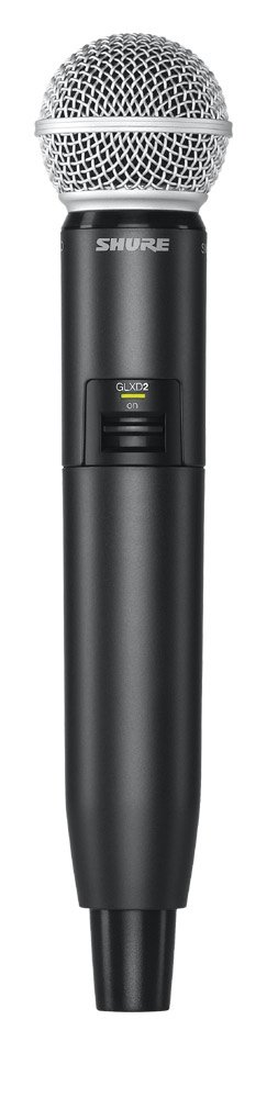 Wireless Handheld Transmitter with SM58 Capsule