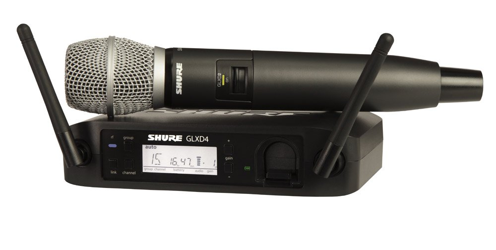 Wireless System with the SM86 Handheld Transmitter