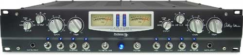 2-Channel Discreete Class A All-Tube Microphone Preamplifier