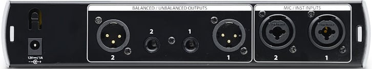 Dual-Path Mic/Instrument Tube Preamplifier