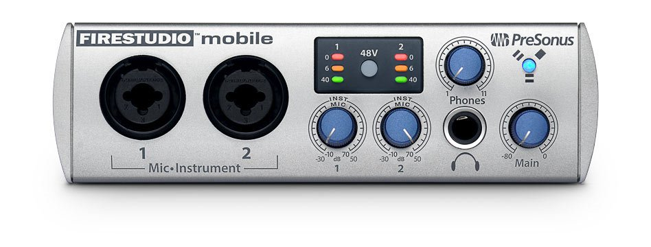 10 In/6 Out FireWire Audio Interface