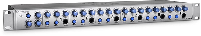 6-Channel Headphone Amplification System