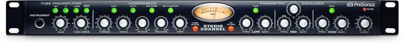 Tube Channel Strip/Preamplifier/Equalizer/Compressor