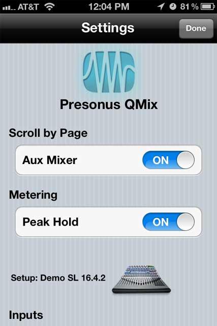 Performance & Recording Digital Mixer, QMix Compatible