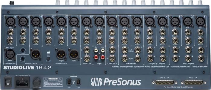 16x4x2 Live Performance & Recording Digital Mixer, QMix Compatible