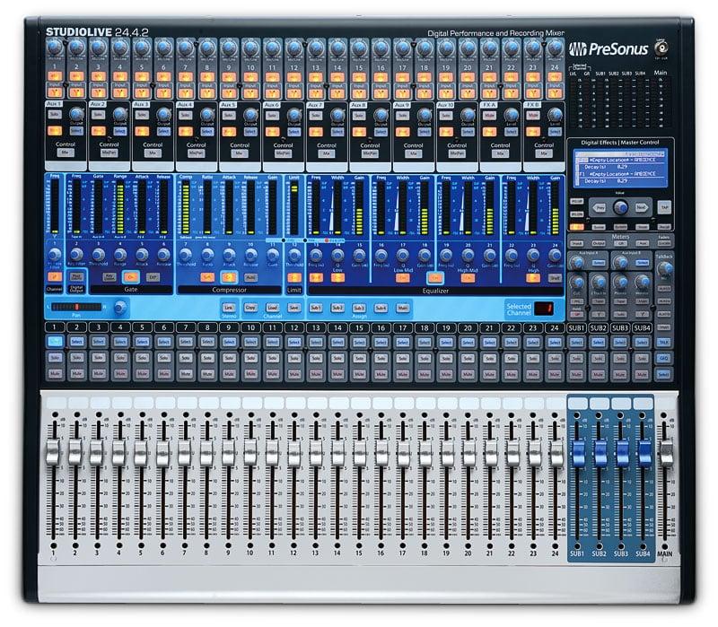 24x4x2 Digital Mixer, QMix Compatible