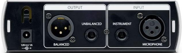 Single-Channel Tube Microphone Preamplifier/DI Box