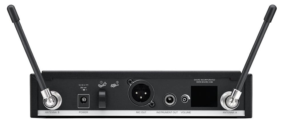 Shure BLX4R-J10 Wireless Rackmount Receiver, 584-608 MHz BLX4R-J10