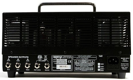 Orange Amplification Dark Terror 15W Tube Guitar Amplifier Head DA15H