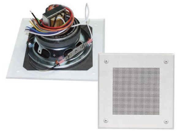 """4"""" Speaker, Xfmr, and Grille Assembly"""