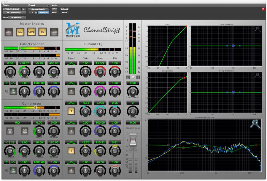 Signal Processing Bundle for Pro Tools™ 10 AU/AAX (Electronic Delivery)