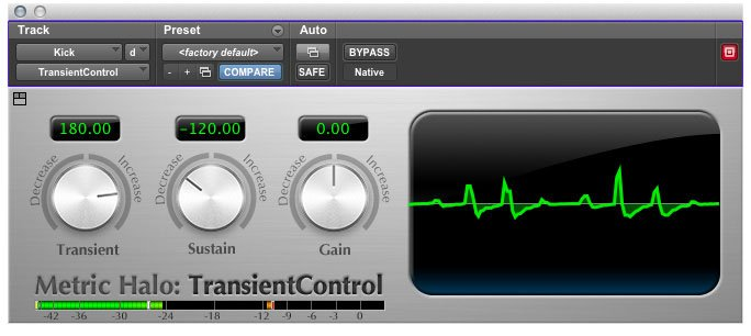 Dynamics Processing Plug-in for Pro Tools™ 10 AAX (Electronic Delivery)
