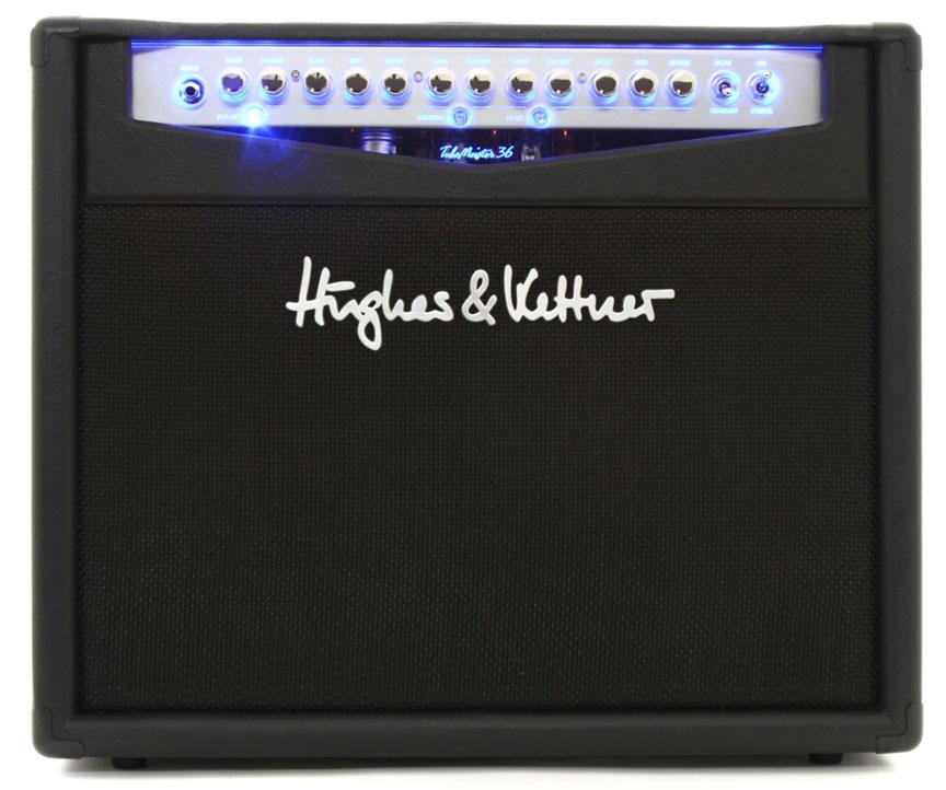 36W Tube Guitar Combo Amplifier in Black
