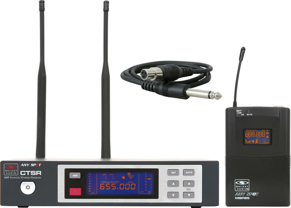 Wireless Guitar System, L Frequency Range