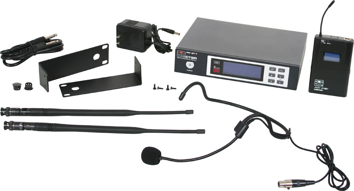 Wireless Headset System, L Frequency Range