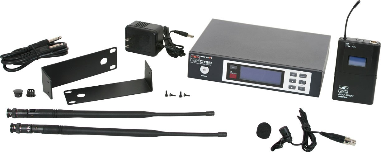 Wireless Lavalier System, L Frequency Range
