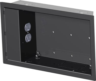 In-wall Box, with Power Outlet Conditioner