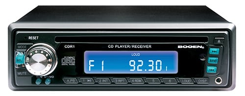 Single Disk CD Player/Tuner