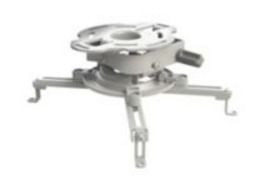 Universal Projector Mount in White