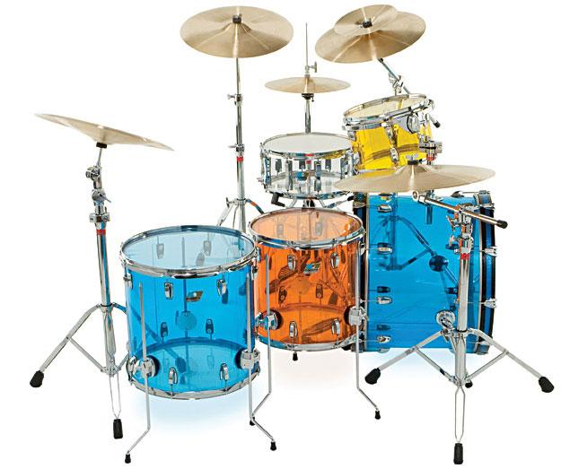 "Ludwig Drums LS903V 6.5"" x 14"" Vistalite Snare LS903VXX"